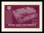 Kyle Field Blueprint art