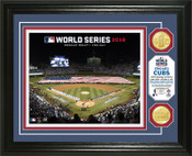 Chicago Cubs 2016 World Series Opening Ceremonies Bronze Coin Photo Mint
