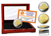 Clemson Tigers 2016 Football National Champions Two-Tone Mint Coin