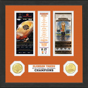Clemson Tigers 2016 Football National Champions Ticket Collection