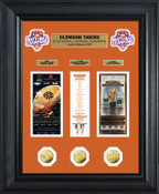 Clemson Tigers  2016 Football National Champions Deluxe Gold Coin Ticket Collection