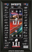 New England Patriots Super Bowl 51 Signature Ticket