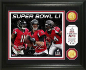 Atlanta Falcons 2016 NFC Champions Bronze Coin Photo Mint