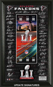 Atlanta Falcons Super Bowl 51 Signature Ticket