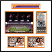 Clemson Tigers 2016 Football National Champions Ticket Frame