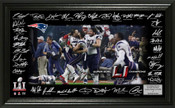 "Super Bowl 51 Champions New England Patriots ""Celebration"" Signature Grid"
