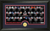 New England Patriots Super Bowl 51 Champions New England Patriots Bronze Coin Pano Photo Mint