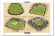 Brooklyn Ballparks Print