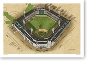 Comiskey Park - Chicago White Sox Print