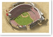 Great American Ballpark - Cincinnati Reds Print