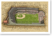 League Park II - Cleveland Indians Print