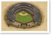 Cleveland Municipal Stadium - Cleveland Indians Print
