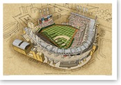 Progressive Field - Cleveland Indians Print