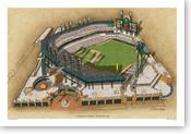 Comerica Park - Detroit Tigers Print