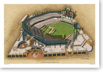MLB Ballparks Posters