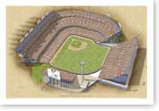 Mile High Stadium - Colorado Rockies Print