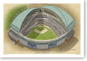 Miller Park - Milwaukee Brewers Print