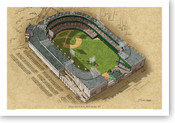 Polo Grounds (late era) - New York Giants  Print