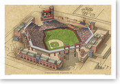Citizens Bank Park - Philadelphia Phillies  Print