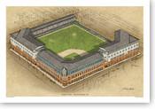 Shibe Park - Philadelphia Phillies  Print