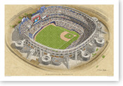 Qualcomm Stadium - San Diego Padres  Print