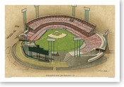 Candlestick Park (early) - San Francisco Giants  Print