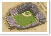 Sicks Stadium - Seattle Marniers  Print