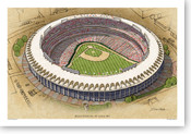 Busch Stadium (old) - St. Louis Cardinals Print