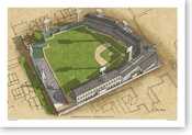 Griffith Stadium - Washington Senators Print