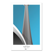 Toronto Blue Jays - Rogers Centre Art Poster