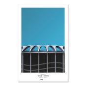 St. Louis Cardinals - Old Busch Stadium Art Poster