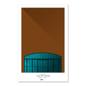 Indianapolis Colts - Lucas Oil Stadium Art Poster