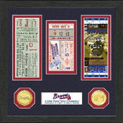 Atlanta Braves World Series Ticket Collection