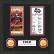 Arizona Diamondbacks World Series Ticket Collection