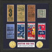 Boston Red Sox World Series Ticket Collection