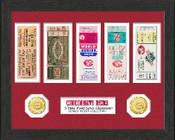 Cincinnati Reds World Series Ticket Collection