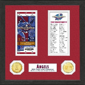 Los Angeles Angels World Series Ticket Collection