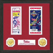 Philadelphia Phillies World Series Ticket Collection