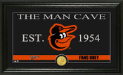 "Baltimore Orioles ""Man Cave"" Panoramic Bronze Coin Photo Mint"