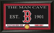 "Boston Red Sox ""Man Cave"" Panoramic Bronze Coin Photo Mint"