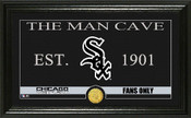 "Chicago White Sox ""Man Cave"" Panoramic Bronze Coin Photo Mint"