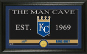 "Kansas City Royals ""Man Cave"" Panoramic Bronze Coin Photo Mint"