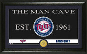 "Minnesota Twins ""Man Cave"" Panoramic Bronze Coin Photo Mint"