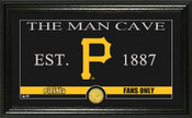"Pittsburgh Pirates ""Man Cave"" Panoramic Bronze Coin Photo Mint"