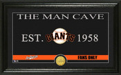 "San Francisco Giants ""Man Cave"" Panoramic Bronze Coin Photo Mint"