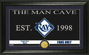 """Tampa Bay Rays """"Man Cave"""" Panoramic Bronze Coin Photo Mint"""
