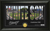 "Chicago White Sox ""Silhouette"" Panoramic Bronze Coin Photo Mint"