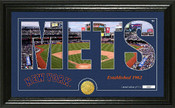 "New York Mets ""Silhouette"" Panoramic Bronze Coin Photo Mint"