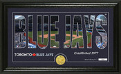 "Toronto Blue Jays ""Silhouette"" Panoramic Bronze Coin Photo Mint"