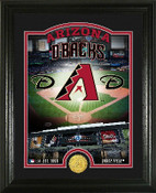 "Arizona Diamondbacks ""Stadium"" Bronze Coin Photo Mint"